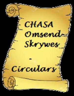 CHASA Omsend Skrywes / CHASA Circulating Letters