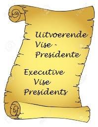 Uitvoerende Presidente / Executive Presidents