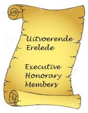 Uitvoerende Erelede / Executive Honorary Members